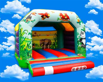 structure gonflable pour enfants